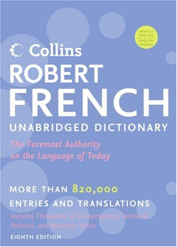 Collins Robert French Unabridged Dictionary 9780061338175