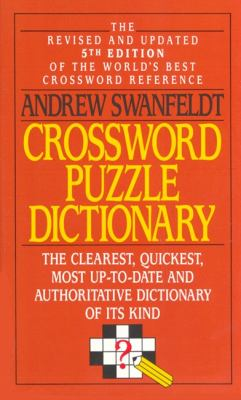 Crossword Puzzle Dictionary 9780061000386