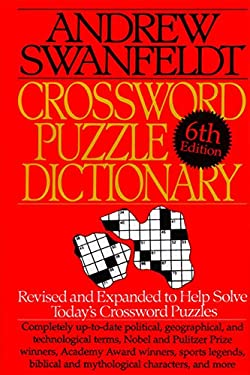 Crossword Puzzle Dictionary: Sixth Edition 9780062700902