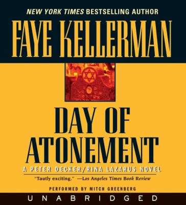 Day of Atonement 9780061441790