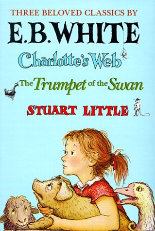 E. B. White-3 Vol. Boxed Set: Charlotte's Web, Stuart Little and Trumpet of the Swan 9780064400619