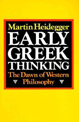 Early Greek Thinking