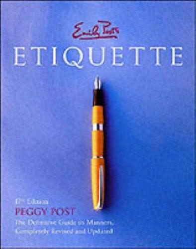 Emily Post's Etiquette 9780066209579
