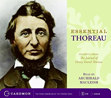 Essential Thoreau: Excerpts from the Journal of Henry David Thoreau 9780061720963