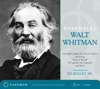 How would you describe Whitman's poetic voice?