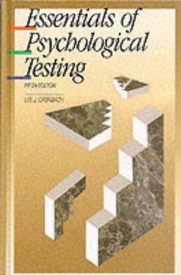 Essentials of Psychological Testing
