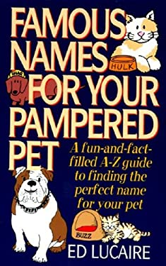 Famous Names for Your Pampered Pet