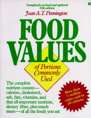 Food Values of Portions Commonly Used