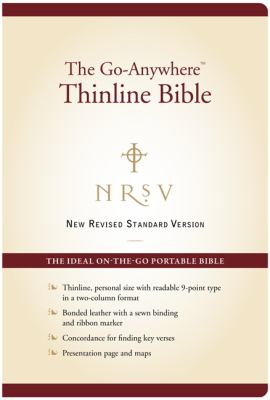 Go-Anywhere Thinline Bible-NRSV-Personal Size 9780062026934
