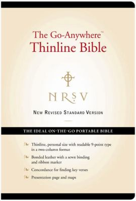 Go-Anywhere Thinline Bible-NRSV-Personal Size