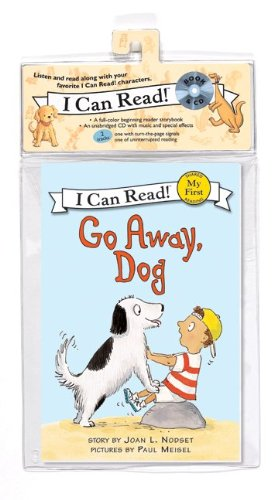Go Away, Dog Book and CD: Go Away, Dog Book and CD 9780061765025