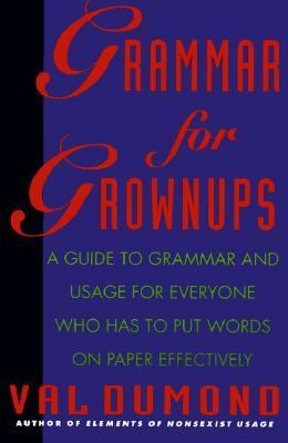 Grammar for Grownups