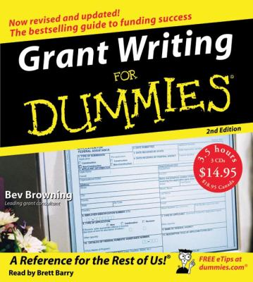 Grant Writing for Dummies 9780061175909