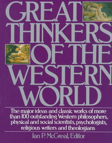 Great Thinkers Weste 9780062700261
