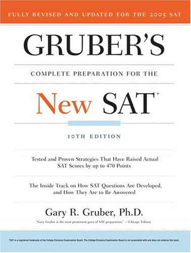 Gruber's Complete Preparation for the New SAT 9780060581701