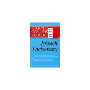 H-C Robert French-English, English-French Dictionary