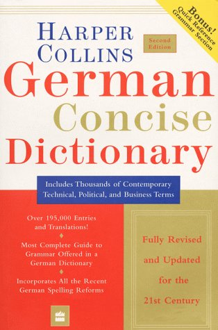 Harper Collins Concise German Dictionary