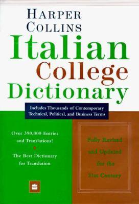 Harper Collins Italian College Dictionary 9780062752543