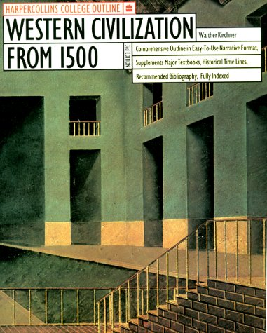 HarperCollins College Outline Western Civilization from 1500