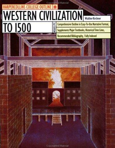 HarperCollins College Outline Western Civilization to 1500