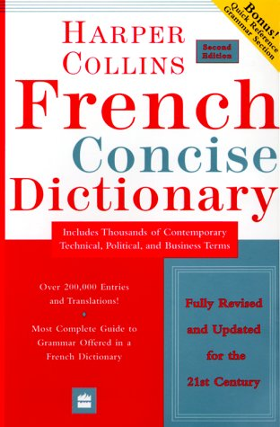 HarperCollins French Concise Dictionary, 2e