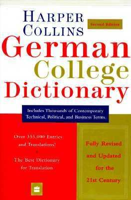 HarperCollins German College Dictionary 2nd Edition