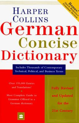 HarperCollins German Concise Dictionary