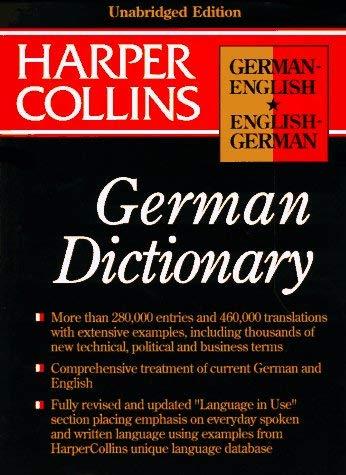 HarperCollins German Dictionary