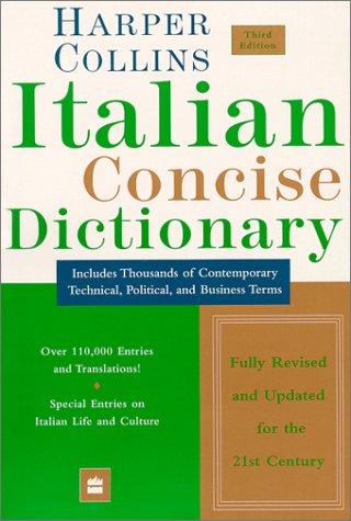 HarperCollins Italian Concise Dictionary, 3e