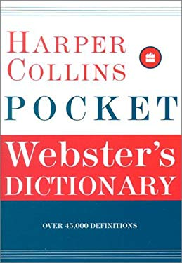 HarperCollins Pocket Webster's Dictionary 9780060085681