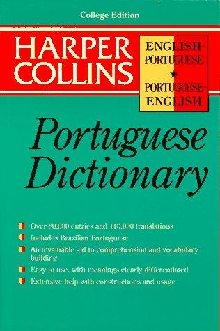 HarperCollins Portuguese Dictionary: English-Portuguese/Portuguese-English 9780062734891