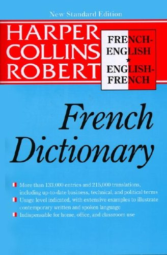 HarperCollins Robert French New Standard Dictionary