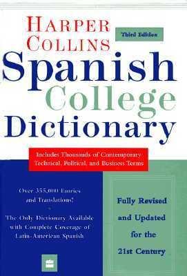 HarperCollins Spanish College Dictionary 3rd Edition