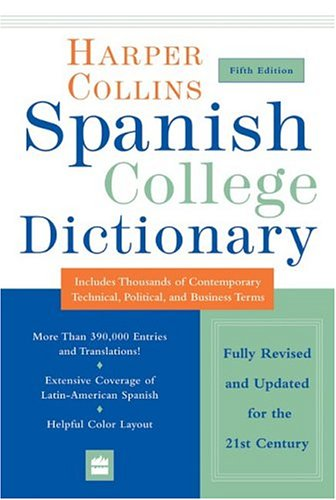 HarperCollins Spanish College Dictionary 5th Edition 9780060733803