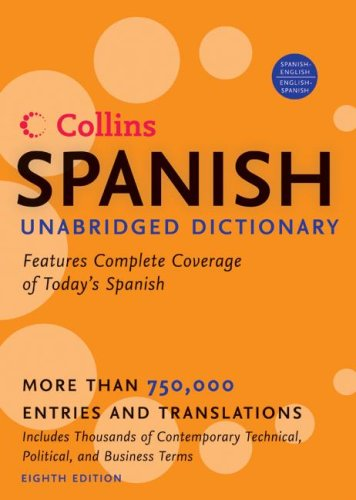 HarperCollins Spanish Unabridged Dictionary, 8th Edition