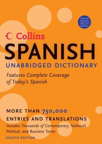 HarperCollins Spanish Unabridged Dictionary, 8th Edition