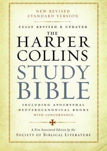 HarperCollins Study Bible-NRSV 9780060786854