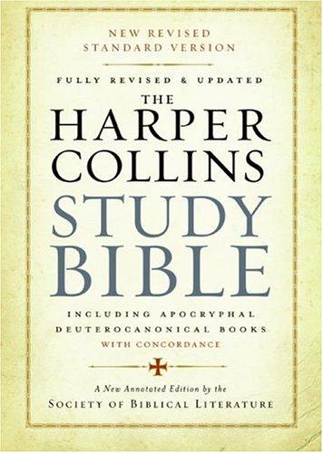 HarperCollins Study Bible-NRSV 9780061228407