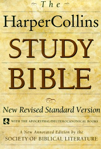 HarperCollins Study Bible: Fully Revised & Updated by ...
