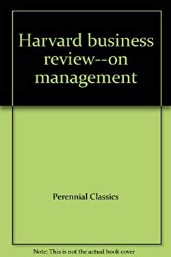 Harvard Business Review--On Management