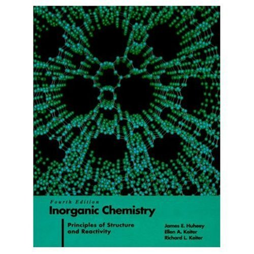 Inorganic Chemistry: Principles of Structure and Reactivity 9780060429959