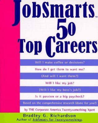 Jobsmarts 50 Top Careers Jobsmarts 50 Top Careers