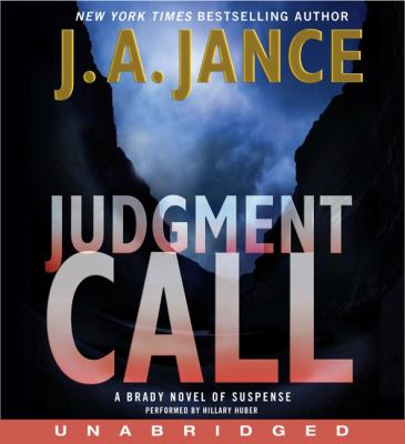 Judgment Call: A Brady Novel of Suspense 9780062189417
