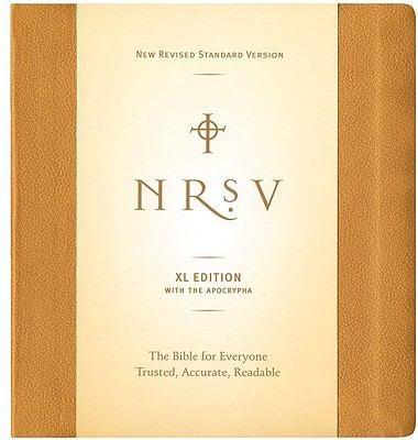 Large Print Bible-NRSV 9780061244872