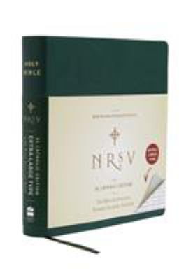 Large Print Bible-NRSV-Catholic 9780061255779
