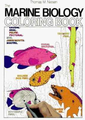 Marine Biology-Coloring Book
