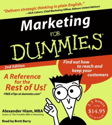 Marketing for Dummies 9780061374326