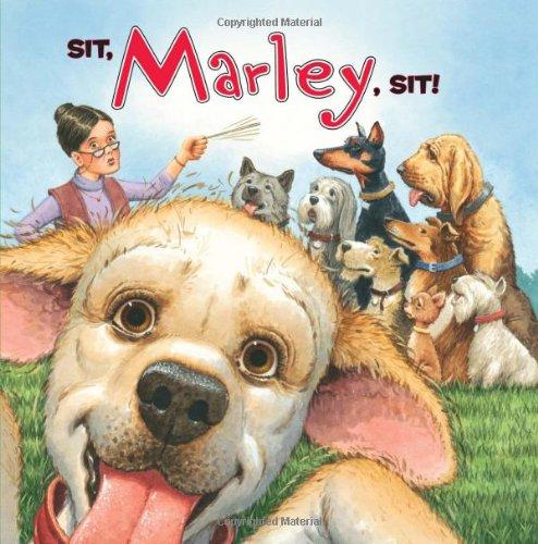 Sit, Marley, Sit!