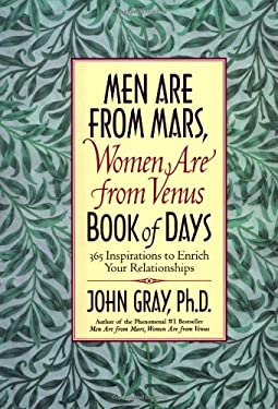 Mars and Venus Book of Days: 365 Inspriations to Enrich Your Relationships [With Ribbon Marker]