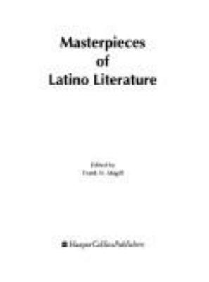 Masterpieces of Latino Literature